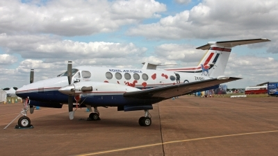Photo ID 248738 by Peter Fothergill. UK Air Force Beech Super King Air B200 GT, ZK460