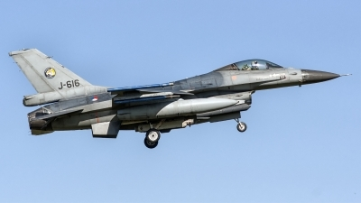 Photo ID 248775 by John. Netherlands Air Force General Dynamics F 16AM Fighting Falcon, J 616