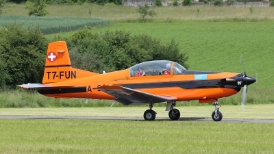 Photo ID 248801 by Ludwig Isch. Private Fliegermuseum Altenrhein Pilatus PC 7 Turbo Trainer, T7 FUN
