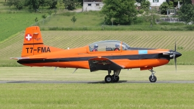 Photo ID 248805 by Ludwig Isch. Private Fliegermuseum Altenrhein Pilatus PC 7 Turbo Trainer, T7 FMA