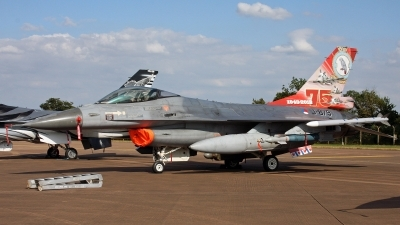 Photo ID 248826 by Peter Fothergill. Netherlands Air Force General Dynamics F 16AM Fighting Falcon, J 879