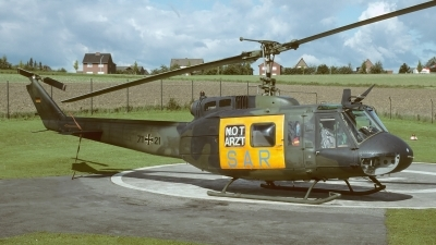 Photo ID 248827 by Klemens Hoevel. Germany Air Force Bell UH 1D Iroquois 205, 71 21
