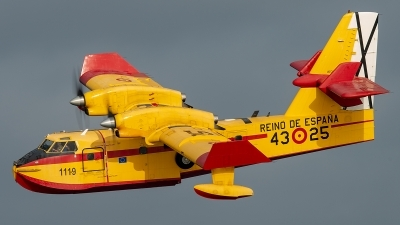 Photo ID 248954 by Pedro Castellano Garcia. Spain Air Force Canadair CL 215T, UD 13 25