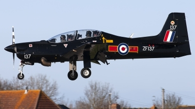 Photo ID 249003 by Chris Lofting. UK Air Force Short Tucano T1, ZF137