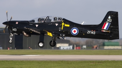 Photo ID 249005 by Chris Lofting. UK Air Force Short Tucano T1, ZF143