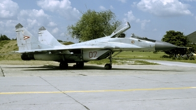 Photo ID 249052 by Marinus Dirk Tabak. Hungary Air Force Mikoyan Gurevich MiG 29B 9 12A, 07