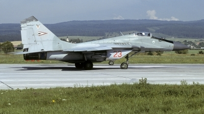 Photo ID 249051 by Marinus Dirk Tabak. Hungary Air Force Mikoyan Gurevich MiG 29 9 12, 23