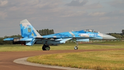 Photo ID 249082 by Peter Fothergill. Ukraine Air Force Sukhoi Su 27S,