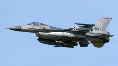 Photo ID 249200 by Rainer Mueller. Netherlands Air Force General Dynamics F 16AM Fighting Falcon, J 513