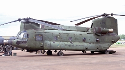 Photo ID 249259 by Peter Fothergill. Netherlands Air Force Boeing Vertol CH 47D Chinook, D 661