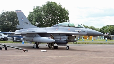 Photo ID 249229 by Peter Fothergill. Netherlands Air Force General Dynamics F 16BM Fighting Falcon, J 368
