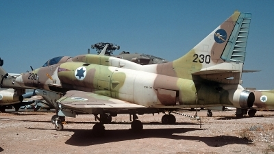 Photo ID 249355 by Carl Brent. Israel Air Force Douglas A 4H Skyhawk, 230