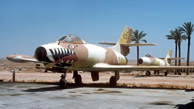 Photo ID 249357 by Carl Brent. Israel Air Force Dassault MD 450 Ouragan, 113