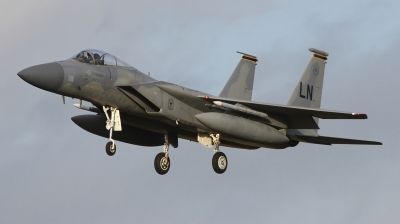 Photo ID 249405 by Paul Newbold. USA Air Force McDonnell Douglas F 15C Eagle, 86 0156