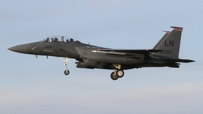 Photo ID 249409 by Paul Newbold. USA Air Force McDonnell Douglas F 15E Strike Eagle, 01 2002