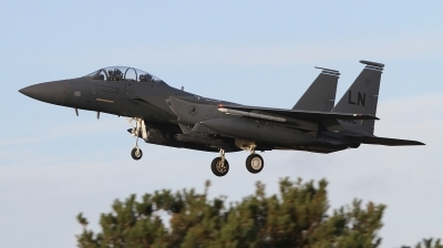Photo ID 249426 by Paul Newbold. USA Air Force McDonnell Douglas F 15E Strike Eagle, 91 0302