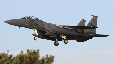 Photo ID 249424 by Paul Newbold. USA Air Force McDonnell Douglas F 15E Strike Eagle, 91 0603
