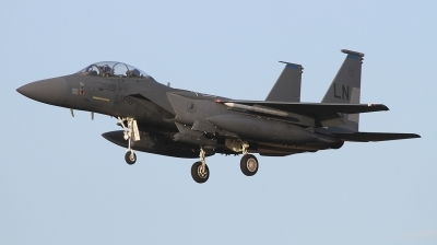 Photo ID 249425 by Paul Newbold. USA Air Force McDonnell Douglas F 15E Strike Eagle, 96 0204