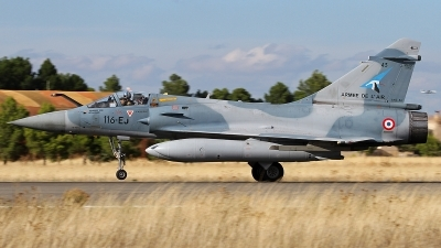 Photo ID 249441 by Fernando Sousa. France Air Force Dassault Mirage 2000 5F, 43