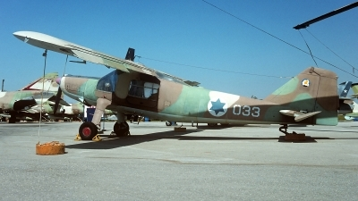 Photo ID 249449 by Carl Brent. Israel Air Force Dornier Do 27A4, 033