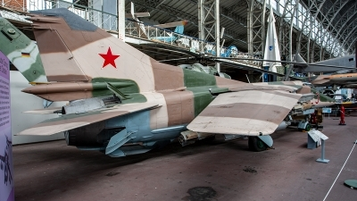 Photo ID 249480 by Jan Eenling. Egypt Air Force Mikoyan Gurevich MiG 23BN, 9556