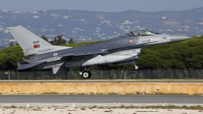Photo ID 249490 by Fernando Sousa. Portugal Air Force General Dynamics F 16AM Fighting Falcon, 15110