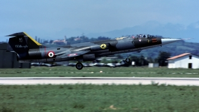 Photo ID 249520 by Sergio Gava. Italy Air Force Lockheed F 104G Starfighter, MM6599