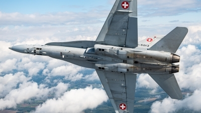 Photo ID 249598 by Reto Gadola. Switzerland Air Force McDonnell Douglas F A 18C Hornet, J 5013