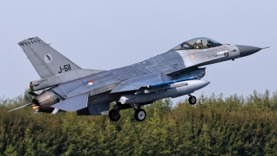 Photo ID 249620 by Rainer Mueller. Netherlands Air Force General Dynamics F 16AM Fighting Falcon, J 511