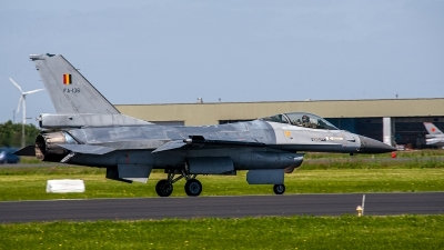 Photo ID 249700 by Jan Eenling. Belgium Air Force General Dynamics F 16AM Fighting Falcon, FA 136