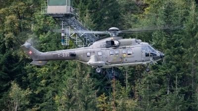 Photo ID 249722 by Reto Gadola. Switzerland Air Force Aerospatiale AS 532UL Cougar, T 339