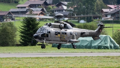 Photo ID 249723 by Reto Gadola. Switzerland Air Force Aerospatiale AS 532UL Cougar, T 339