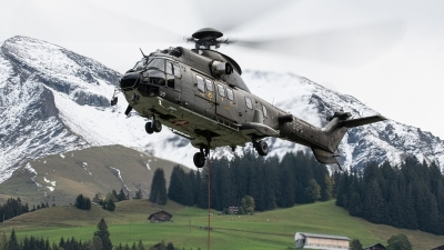 Photo ID 249761 by Reto Gadola. Switzerland Air Force Aerospatiale AS 532UL Cougar, T 339