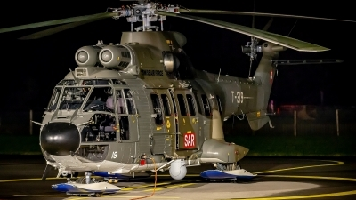 Photo ID 249779 by Martin Thoeni - Powerplanes. Switzerland Air Force Aerospatiale AS 332M1 Super Puma, T 319