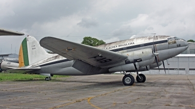 Photo ID 249955 by Peter Fothergill. Brazil Air Force Curtiss C 46A 55, 2058