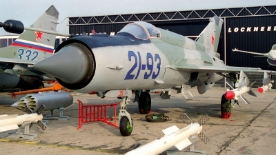 Photo ID 249839 by Sven Zimmermann. Company Owned RSK MiG Mikoyan Gurevich MiG 21 93,