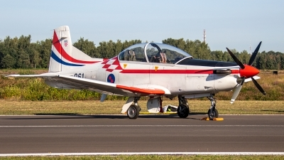 Photo ID 249864 by Jan Eenling. Croatia Air Force Pilatus PC 9M, 061