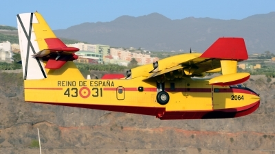Photo ID 249912 by Luis Miguel Rodriguez. Spain Air Force Canadair CL 415 6B11, UD 14 01