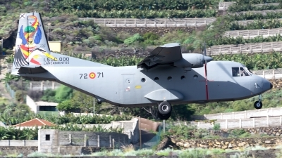 Photo ID 249994 by Luis Miguel Rodriguez. Spain Air Force CASA C 212 100 Aviocar, T 12B 71
