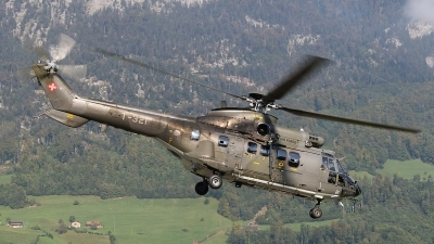 Photo ID 250052 by Ludwig Isch. Switzerland Air Force Aerospatiale AS 332M1 Super Puma, T 321