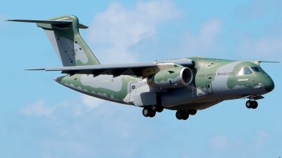 Photo ID 250056 by Misael Ocasio Hernandez. Brazil Air Force Embraer KC 390, FAB2855