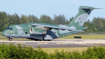 Photo ID 250057 by Misael Ocasio Hernandez. Brazil Air Force Embraer KC 390, FAB2855