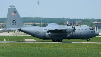 Photo ID 250200 by Sybille Petersen. USA Air Force Lockheed C 130E Hercules L 382, 63 7879