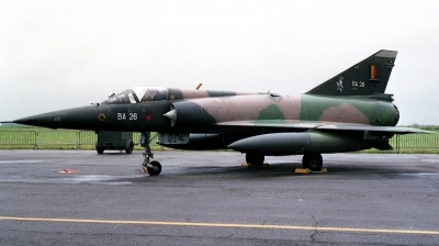 Photo ID 250229 by Michael Baldock. Belgium Air Force Dassault Mirage 5BA, BA26
