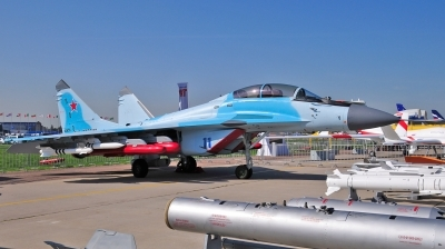 Photo ID 250233 by Frank Deutschland. Russia Air Force Mikoyan Gurevich MiG 35UB, 11 BLUE