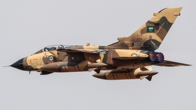 Photo ID 250235 by Ruben Galindo. Saudi Arabia Air Force Panavia Tornado IDS, 703