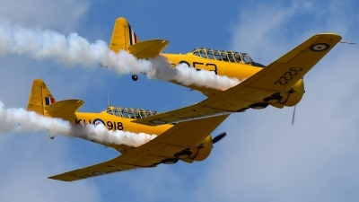 Photo ID 250354 by Rod Dermo. Private Canadian Harvard Aerobatic Team North American Harvard II, C FNAH
