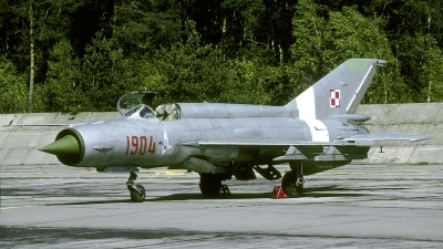 Photo ID 250686 by Marinus Dirk Tabak. Poland Air Force Mikoyan Gurevich MiG 21M, 1904