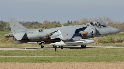 Photo ID 28057 by Rainer Mueller. Spain Navy McDonnell Douglas EAV 8B Harrier II Plus, VA 1B 29