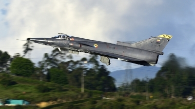 Photo ID 250996 by Bryan Luna. Colombia Air Force Israel IAI Kfir COA, FAC3058